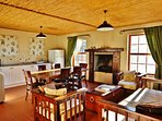 Springbok Self Catering Cottage - Lounge, Dining room, Kitchen
