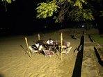 Powered by a 400 Watt flood light, the beach comes to life