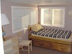 3rd bedroom with trundle bed (2 singles)