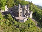 Poised on a graceful mountainside, your castle awaits...