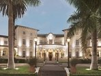 The neighborhood: Country Club Hotel, 5 minutes walking distance.