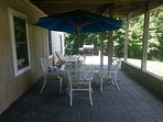 Lower level patio just for you