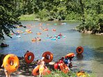 Tubing at Harpers Ferry 45 minutes away