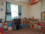 Well stocked play room