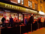 Have a gourmet pie and beer at the local Piebury Corner restaurant.