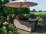 Tree Tops Holiday Lodge (log cabin) with Hot Tub nr York