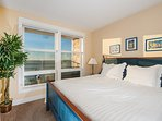 Oceanfront Master Bedroom with King Bed
