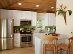 Fully equipped high end kitchen