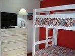 Kid's bedroom with TV