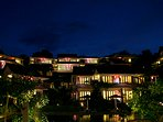 Tirta Room View on the night