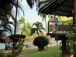 Couple in Riani Deluxe Beachfront Balcony