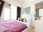 3rd bedroom with soft and pleasant bed