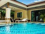 Your private pool villa