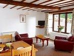 Cedar cottage living area