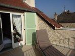 Roof top terrace off bedroom #1