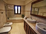 Ensuite bathroom to Bedroom 3.
