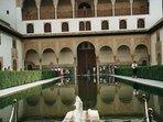 Alhambra in Granada (2hour drive)