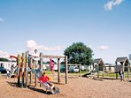 Huge play area at Broadland Sands Located in Carlton.