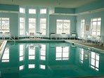 Community heated indoor pool, ocean city, MD