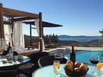 luxury villa with panoramic sea views, pool games fitness play area Villa Morena