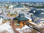 Beach Pavilion, Seasonal Food Stand, Restrooms Sandpiper Cove Resort Holiday Isle Destin Florida Vacation Rentals