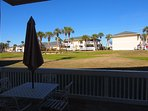Deck to Watch Golfers! - Great deck to chat with family and friends or have coffee in am or watch the golfers!