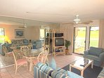 Spacious Den - Nice size den to watch movies or TV with Friends and Family!
