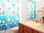SpongeBob Bathroom on 2nd Floor between Children's bedrooms