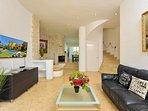 Main lounge area Apt 5 (Main villa)