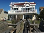 Large OceanFront house, Prvt Beach Access, 7 decks, hot Tub, game room, Handicap