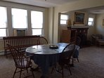 2nd floor dining room - table extends out