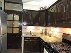 Open floor plan kitchen.