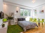 Canapé-lit transformable salon