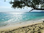 One of the awesome beaches to be found in Ocho Rios