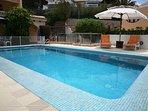 Heated private pool of Villa Alegria