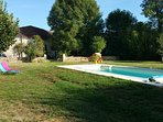 Moulin de Vaudres | piscine chauffée