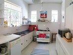 Original Vintage Kitchen with Smeg Oven and Appliances