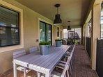 Oversize Lanai and Upgraded Patio Furniture