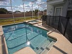Private Pool & Spa w/Safety Fence and No Rear Neighbors