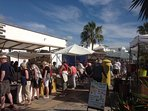 Excellent Playa Blanca market by the marina.The market is on every Saturday and Wednesday.