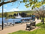 Trenance boating lake with two tea rooms for those cream teas