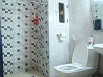 Private bathroom in master bedroom