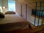 Mezzanine avec un lit 1 place