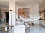 Cómodos espacios interior para disfrutar de la arquitectura colonial