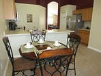 Indulge in the morning tea/coffee or breakfast in the Kitchen nook.