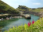 Boscastle fishing harbour