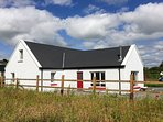 Away from the road and surrounded by countryside, but still close to town and attractions.