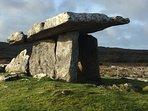 The Dolmen, monolithic grave in the Burren, 30 min from Casa Ceoil.