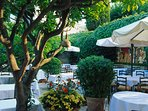 D'or Colomber restaurant - one of best French restaurants is 10 mins walk from the villa