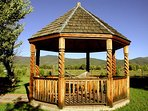 The Gazebo with hammock and in-town mountain views